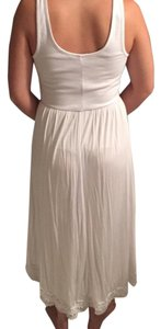 white Maxi Dress by BCBGeneration Bcbg Lace Highlow