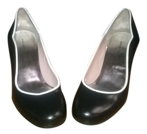 Marc by Marc Jacobs Black with White Trim Pumps