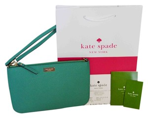 Kate Spade Wristlet in Dusty Emerald
