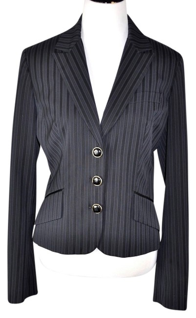 Preload https://img-static.tradesy.com/item/6241123/dolce-and-gabbana-black-and-blue-d-and-g-womens-pinstripe-jacket-size46-blazer-size-10-m-0-0-650-650.jpg