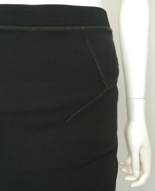 French Connection Zipper Silk Trim Skirt