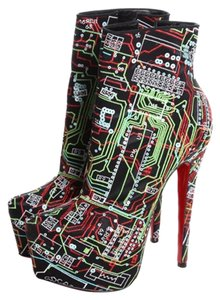 Christian Louboutin Geek Multi-Colored Boots