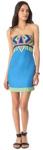 Mara Hoffman short dress Blue Dvf Tory Burch on Tradesy