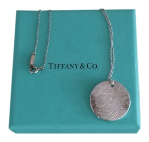 Tiffany & Co. Tiffany Pendant Necklace