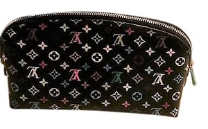 Louis Vuitton Louis Vuitton Made in France Multicolor Cosmetic Pouch Noir New