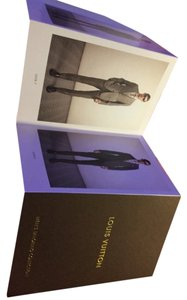 Louis Vuitton Louis Vuitton Men's Tailoring Collection 4x6 Fold Out Catalog