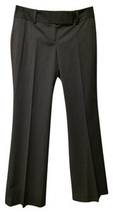 Ann Taylor Trouser Pants Gray Striped