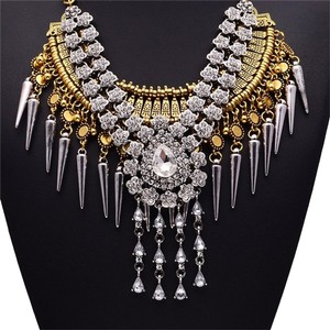 Elegant Lady Elegant Lady Vintage India Crystal Fashion Jewelry Hot Sale Charm Necklace Mothers Day Jewelry