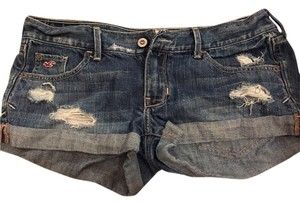 Hollister Denim Shorts-Distressed