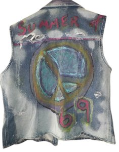 Custom upcycle Punk Jacket Punk Fashions Vest