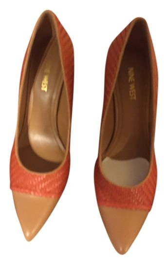 Preload https://img-static.tradesy.com/item/6245788/nine-west-orangetan-pumps-size-us-8-regular-m-b-0-0-540-540.jpg