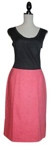 Anthropologie Skirt Pink Tweed