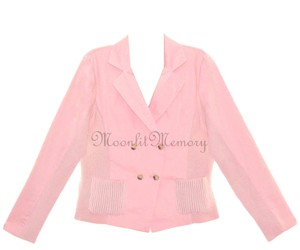 Sundance Stretch Sweater Knit New With Flaw Pink Jacket