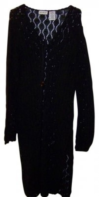 Preload https://item3.tradesy.com/images/white-stag-black-cardigan-size-18-xl-plus-0x-6247-0-0.jpg?width=400&height=650