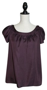 Ann Taylor LOFT Top Deep Wine