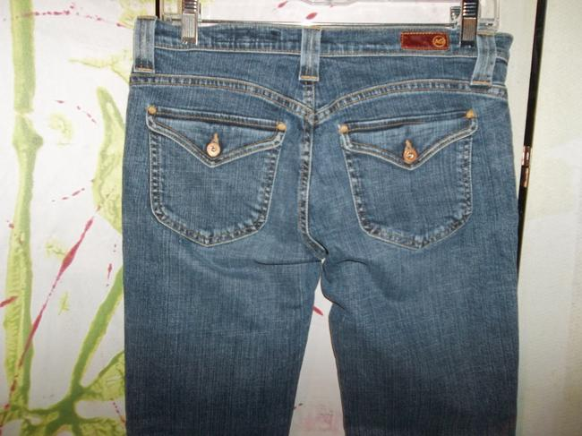 AG Adriano Goldschmied Logic Size 29 Low Rise Boot Cut Jeans-Medium Wash