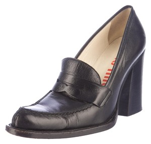 Miu Miu Loafer 1970s 70s Wear To Work Black Pumps