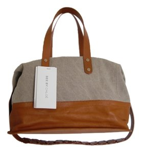 See by Chloé Satchel in Natural/Tan
