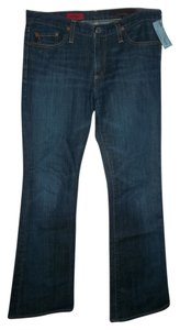 AG Adriano Goldschmied Low Rise 30r Angel Five Pocket Boot Cut Jeans-Medium Wash