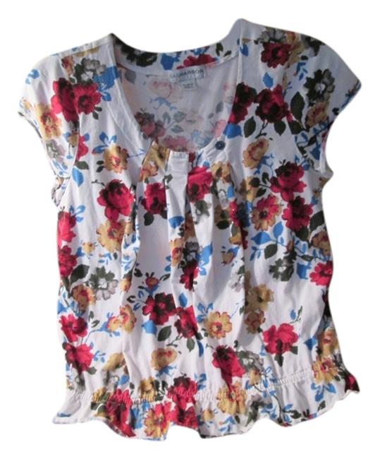 Preload https://img-static.tradesy.com/item/6248194/sag-harbor-white-new-with-flowers-spring-time-deal-blouse-size-16-xl-plus-0x-0-0-650-650.jpg