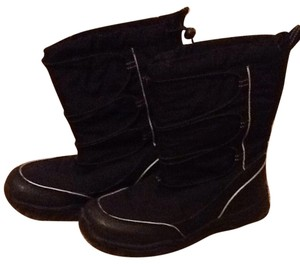 Lands' End black Boots