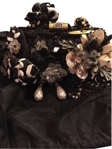 Mary Frances Black Clutch