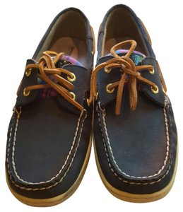 Sperry Boat Blue Navy Flats