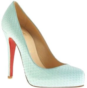 Christian Louboutin Sea green Platforms