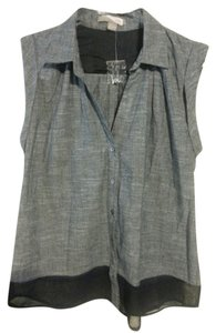 Forever 21 Button Down Shirt grey