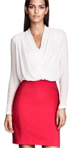 H&M Pencil Office Bright Color Skirt Hot Pink