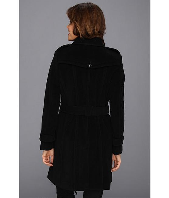 Cole Haan Cashmere Belted Wool Winter Trench Coat