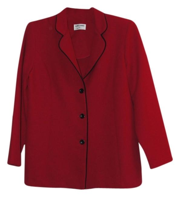 Preload https://img-static.tradesy.com/item/6250999/alfred-dunner-red-jacket-pant-suit-size-14-l-0-0-650-650.jpg