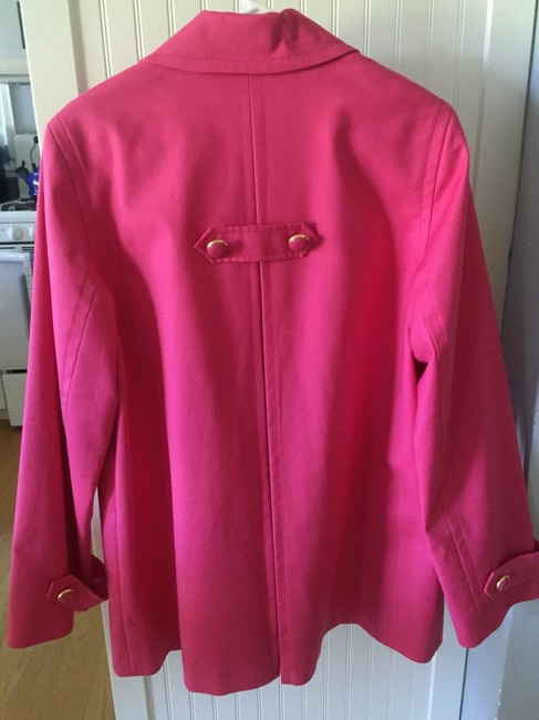 Jones New York Gold Hardware Hot Pink Jacket