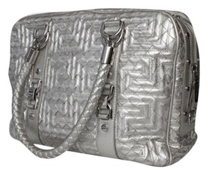 Versace Courture Tote in Silver
