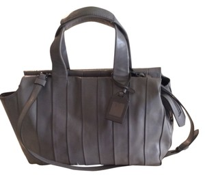 Reed Krakoff Leather Satchel in Gray