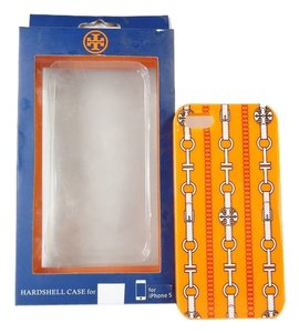 Tory Burch Tory Burch Hardshell Case for iPhone 5 Orange Logo Link BOXED NEW WITH TAG