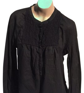 Banana Republic Button Down Shirt Blac