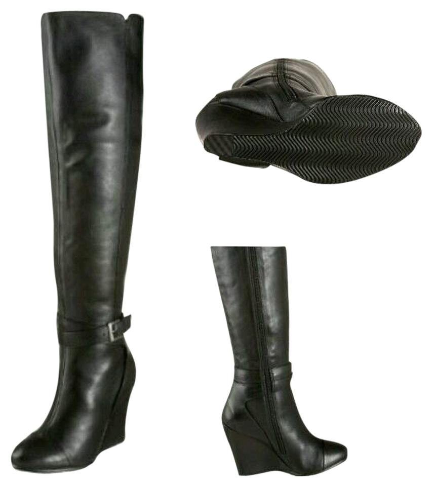 Kelsi Dagger Wedge Black Hattie Wedge Dagger Boots/Booties ad6c5f