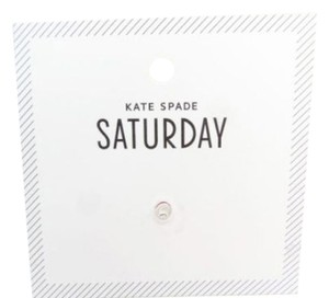 Kate Spade Kate Spade Saturday Initial O Earring NEW WITH TAGS