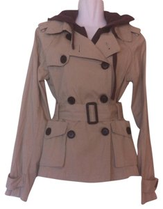 Dollhouse Trench Twist Hoodie Trench Coat