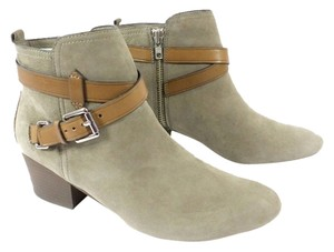 Coach New With Tags Fall Leather Buckle Slate Boots