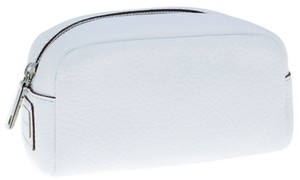 Dolce&Gabbana Dolce&Gabbana White Pebbled Leather Cosmetic case
