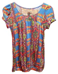 Free People T Shirt Multicolor