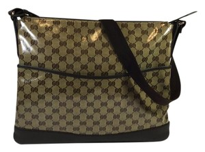 Gucci Crossbody Brown Messenger Bag