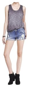 Express Cuffed Shorts Denim