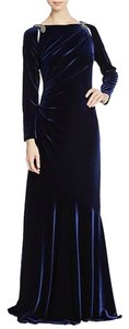 Teri Jon Vevelt Jeweled Evening Gown Dress