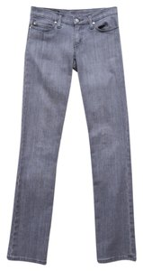 Nobody Denim Low Rise Straight Leg Jeans-Light Wash