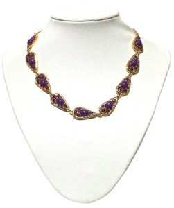 Kate Spade Kate Spade New York Purple Paisley Park Short Necklace