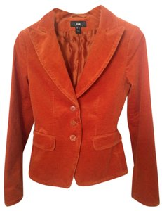 H&M Pumpkin, burnt Orange Blazer
