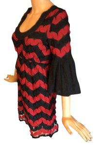 Judith March short dress Red/black on Tradesy